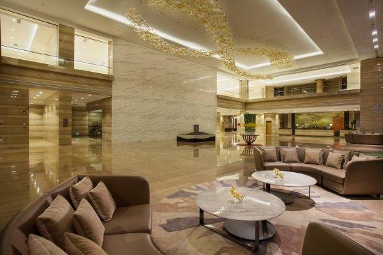 Putian, China: Hotel Lobby