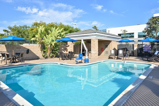 Holiday Inn Express Hotel & Suites San Diego Otay Mesa : Take a dip in our heated, outdoor swimming pool.