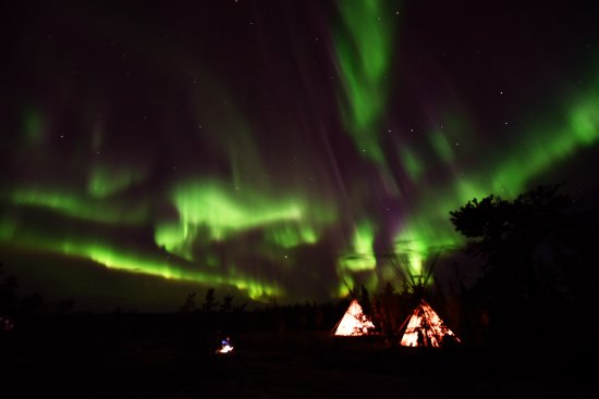 Yellowknife, Canadá: The great aurora viewing site make you warm, happy and wonderful!
