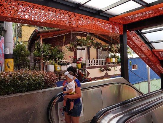 Great Views Of Medellin Picture Of Escaleras Electricas