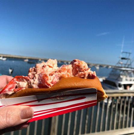 Great food and atmosphere!  The walk along from The Lobster Hut and Plymouth Rock is a must.   T