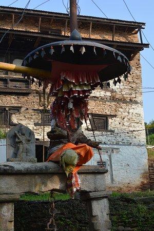 Charikot, Непал: Bhimsen temple area