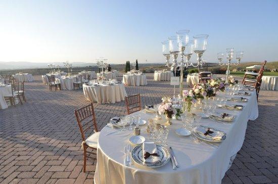Bagnaia, Italy: A Terrace Over the World
