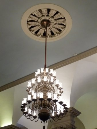Beautiful decorate chandelier picture of kings chapel boston kings chapel beautiful decorate chandelier aloadofball Images