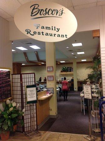 Greenery Restaurant at Boscov's, Hazleton.