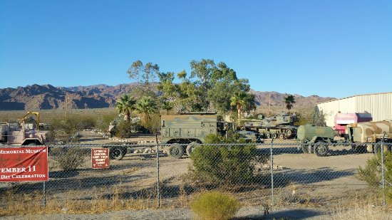 Chiriaco Summit, CA: General George S. Patton Memorial Museum