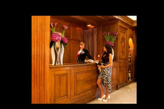 Hotel Astor Saint-Honore: Reception