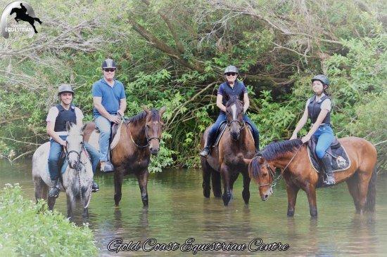 Clagiraba, Australia: Trailride in our river