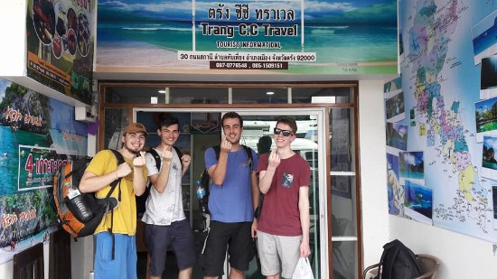Trang Province, Tailandia: Thank you for Van+Boat Ticket from Trang to Koh Mook By lovely Guest