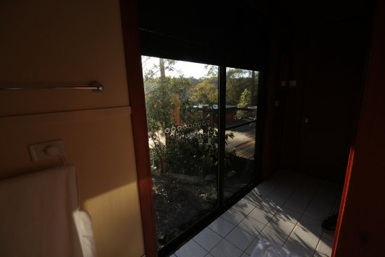 Vacy, Australia: View from the toilet- Jabiru Cabin