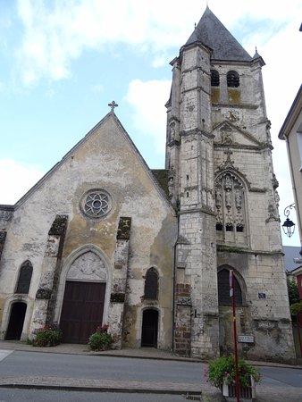 Longny-au-Perche, ฝรั่งเศส: L'église Saint-Martin