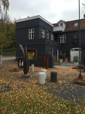 Rungsted, Denmark: Galleri X garden