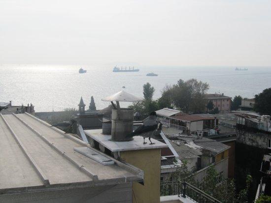 Hotel Peninsula : View from Blacony (At Breakfast)