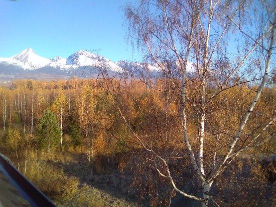 Stola, Σλοβακία: Výhled z pokoje č 27