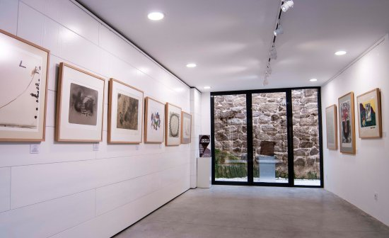 Exposición gráfica circular - Galeria Circular. Allariz