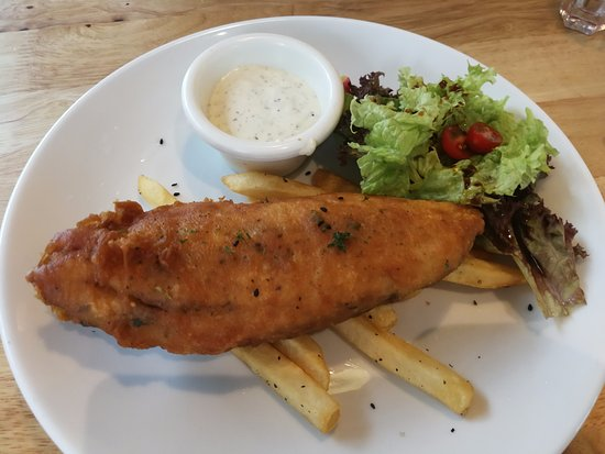 Food Foundry: fish and chips