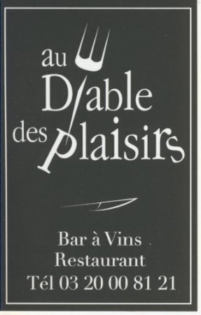 Au Diable des Plaisirs : carte