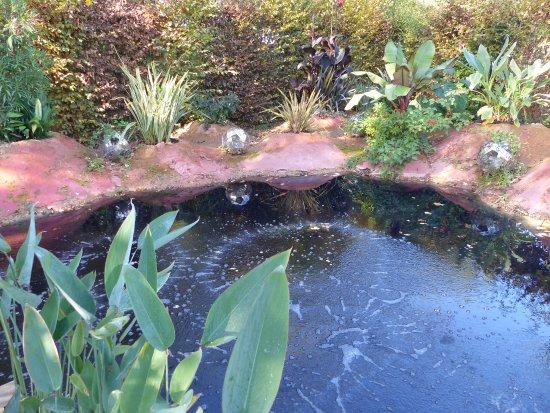 Chaumont-sur-Loire, Fransa: le jardin représentant les dangers du futur