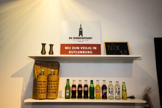 Culemborg, The Netherlands: De bar in het horecagedeelte