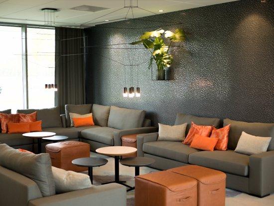 Gardermoen Airport Hotel: Loungen er tilgjengelig til alle våre gjester.