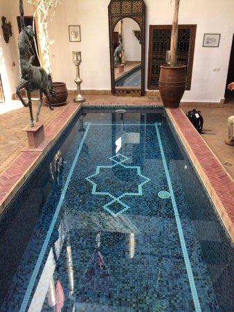 Riad El Zohar: Plunge pool
