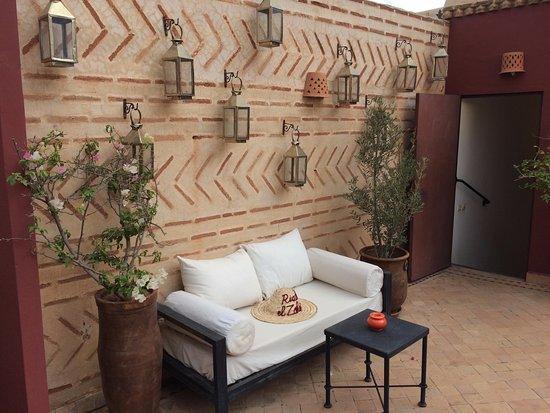 Riad El Zohar: Roof Terrace