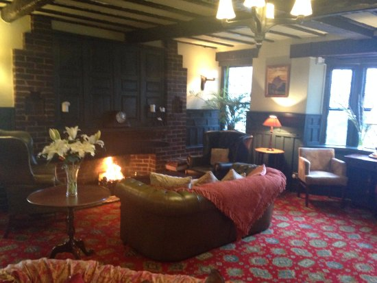 Llandovery, UK: Cosy lounge area