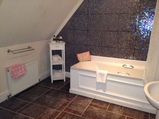 Llandovery, UK: Spacious bathroom