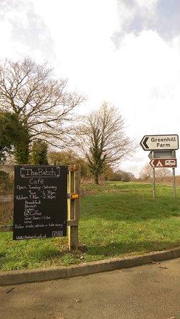 Bletchingdon, UK: Entrance