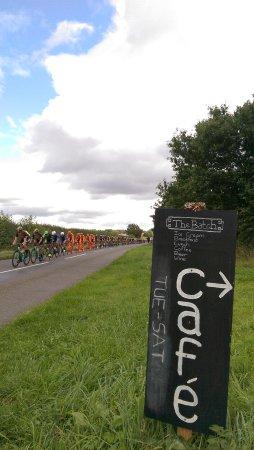 Bletchingdon, UK: Cycling Cafe