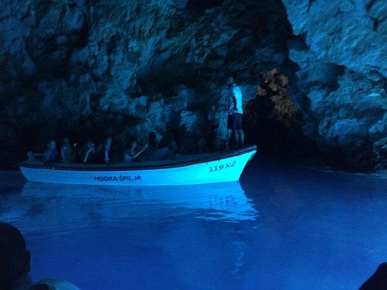 Milna, Croatia: Blue Cave