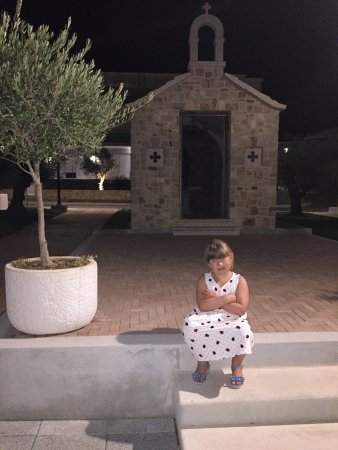 Milna, Croatia: Church on site