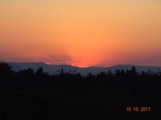 Hectorspruit, South Africa: African Sunset
