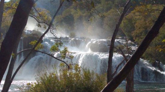 Sibenik-Knin County, Croatia: Krka waterfall