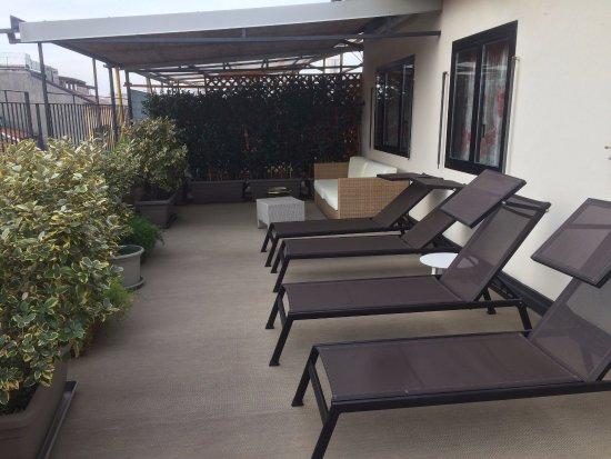 Accademia Hotel: terraco hotel accademia
