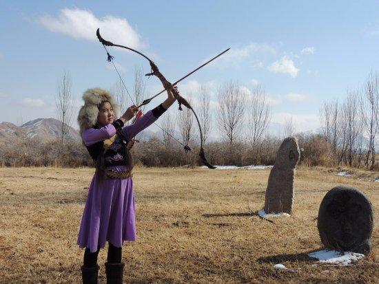Yurt Camp Jaichy: archery classes