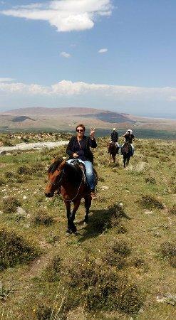 Yurt Camp Jaichy: my first horsetrekking