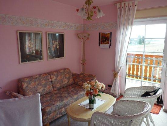 Luechow, Niemcy: ... das Rosenzimmer (gemütliche Sitzecke)