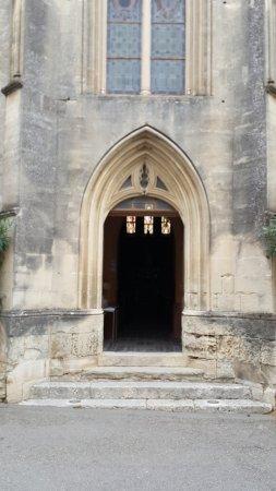 Aigueze, France : Eingang