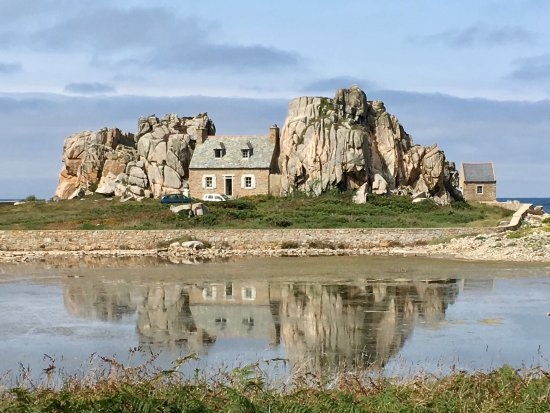 Plougrescant, فرنسا: Site du Gouffre