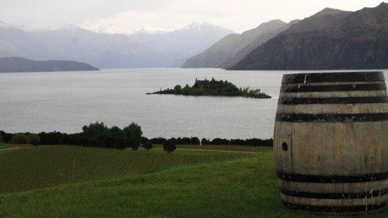 Toller Blick vom Rippon Vineyard
