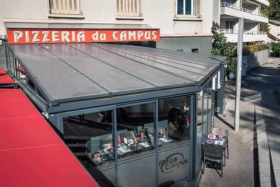 pizza campus saint martin d 39 heres restaurantbeoordelingen tripadvisor. Black Bedroom Furniture Sets. Home Design Ideas