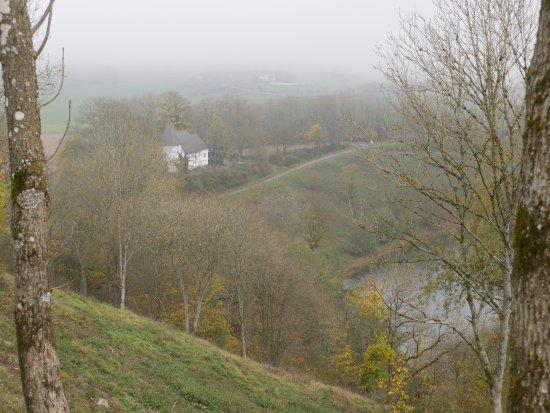 Weinfelder Maar - Totenmaar: von oben
