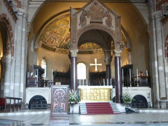 Basilica di Sant'Ambrogio: l'autel