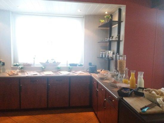 Hotel Haus am Steinschab: ontbijtbuffet