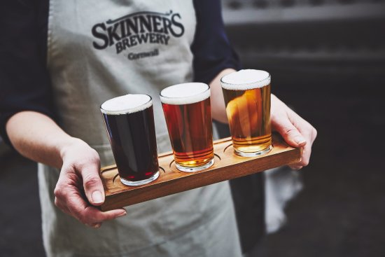 Truro, UK: Try and buy the full range of Skinner's ales in our brewery shop