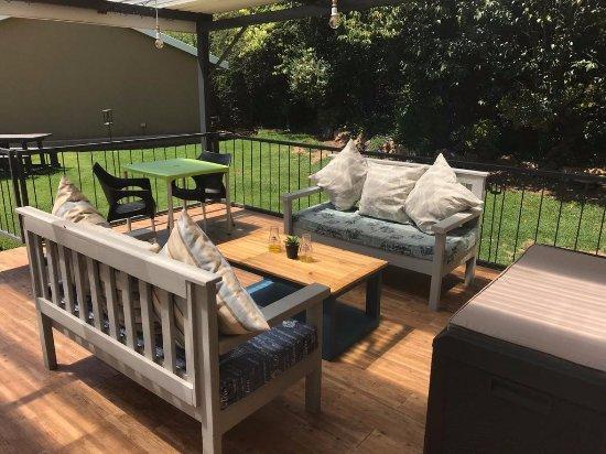 Maclear, Sudáfrica: Outside on the veranda
