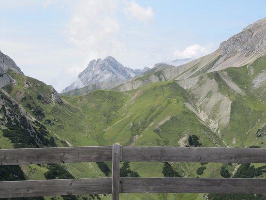 Leutasch, Austria: Blick von der Rotmoos Alm.