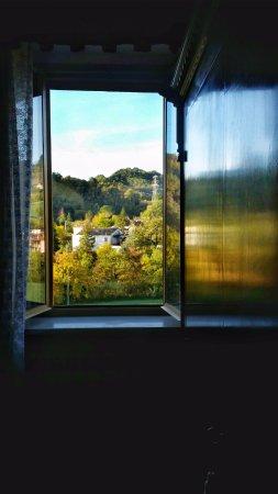Roccafluvione, Italien: Camera con vista