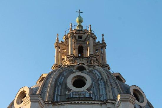 Paprticolare cupola Santa Maria di Loreto